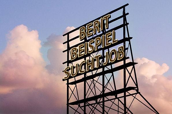 Buchstabenfolge Job gesucht
