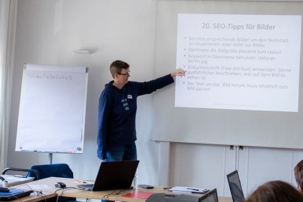 Workshop Suchmaschinenoptimierung SEO bei BER-IT