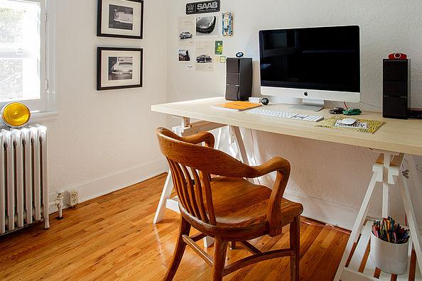 Schreibtisch zuhause